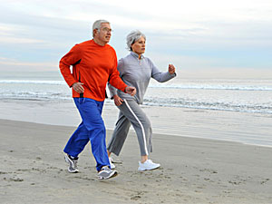What should coronary heart disease patients do every 20 minutes?